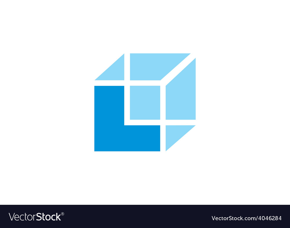Box construction cube business logo vector | Price: 1 Credit (USD $1)