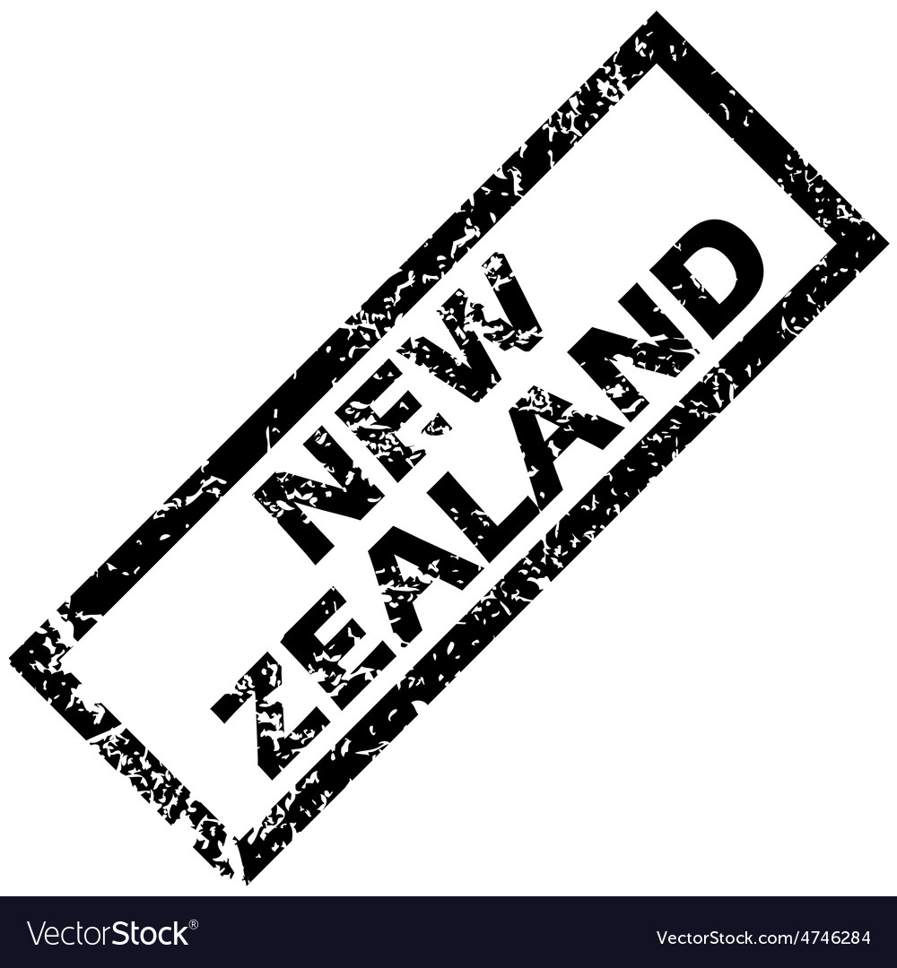 New zealand stamp vector | Price: 1 Credit (USD $1)