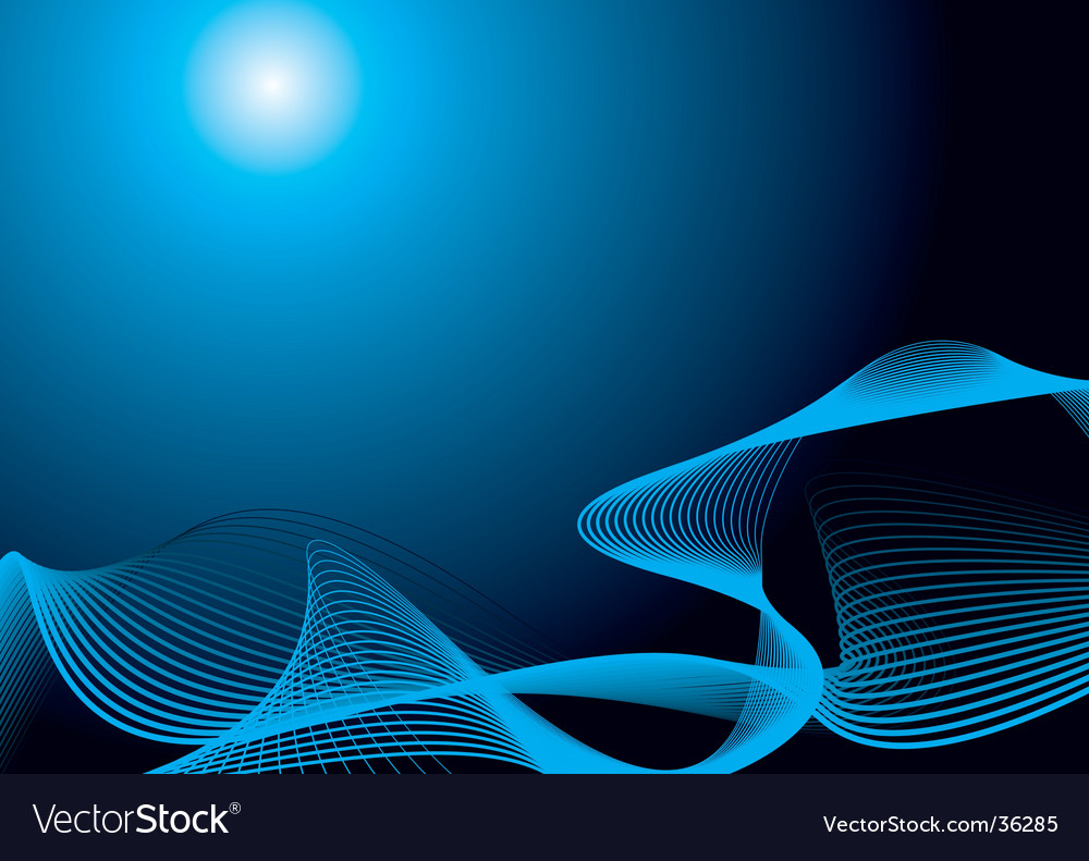 Blue rise vector | Price: 1 Credit (USD $1)