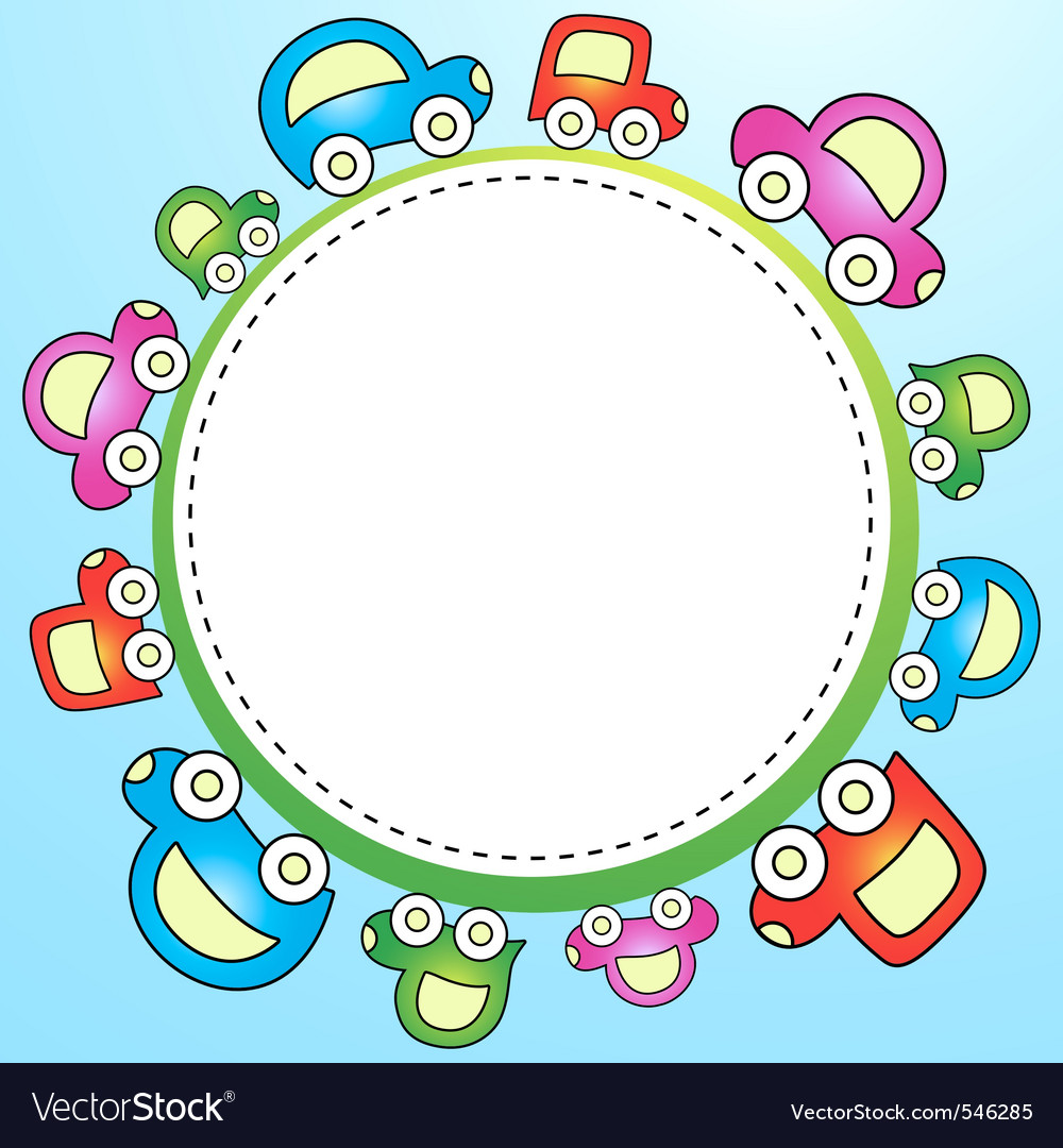 Colorful child template vector | Price: 1 Credit (USD $1)