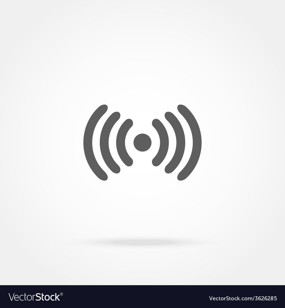Icons wi fi vector | Price: 1 Credit (USD $1)