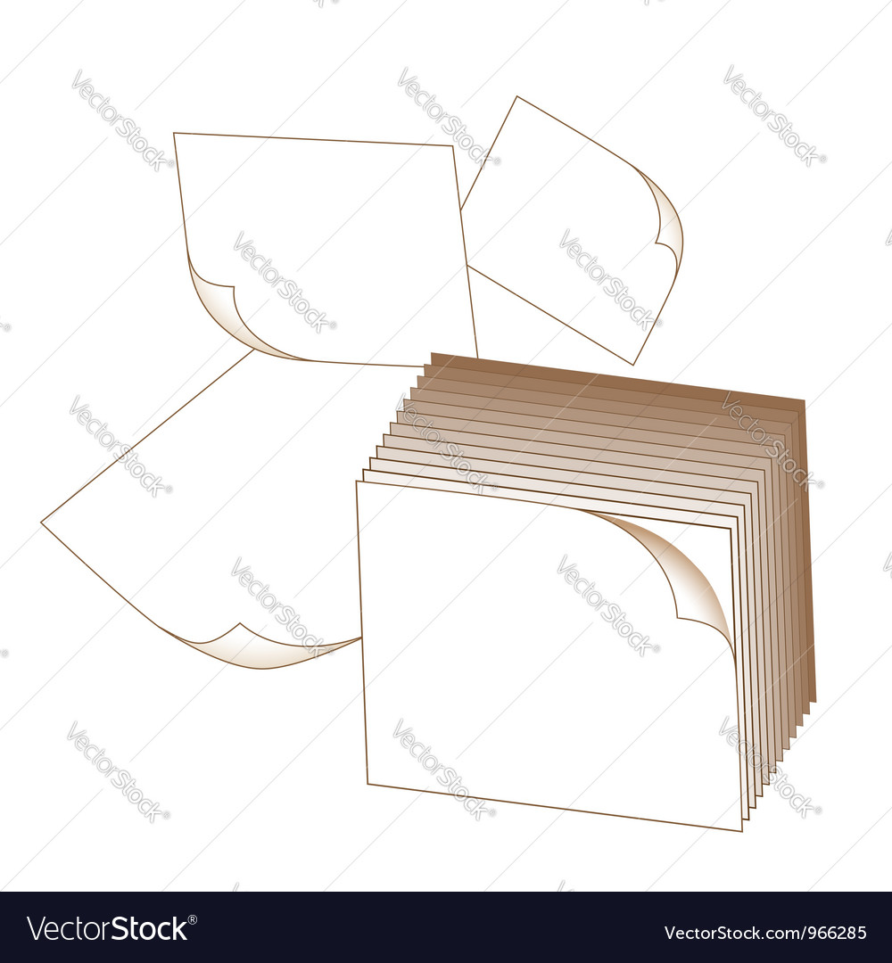 Note paper vector | Price: 1 Credit (USD $1)