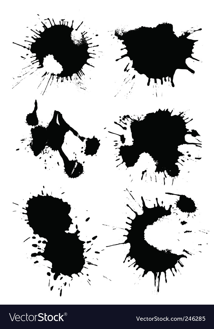 Splat vector | Price: 1 Credit (USD $1)