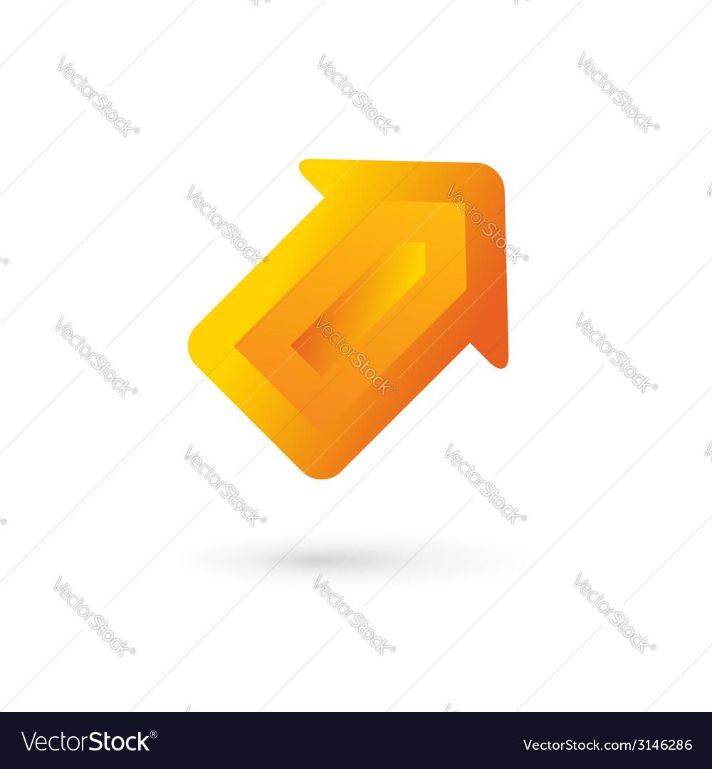 Business arrow logo icon design template vector | Price: 1 Credit (USD $1)
