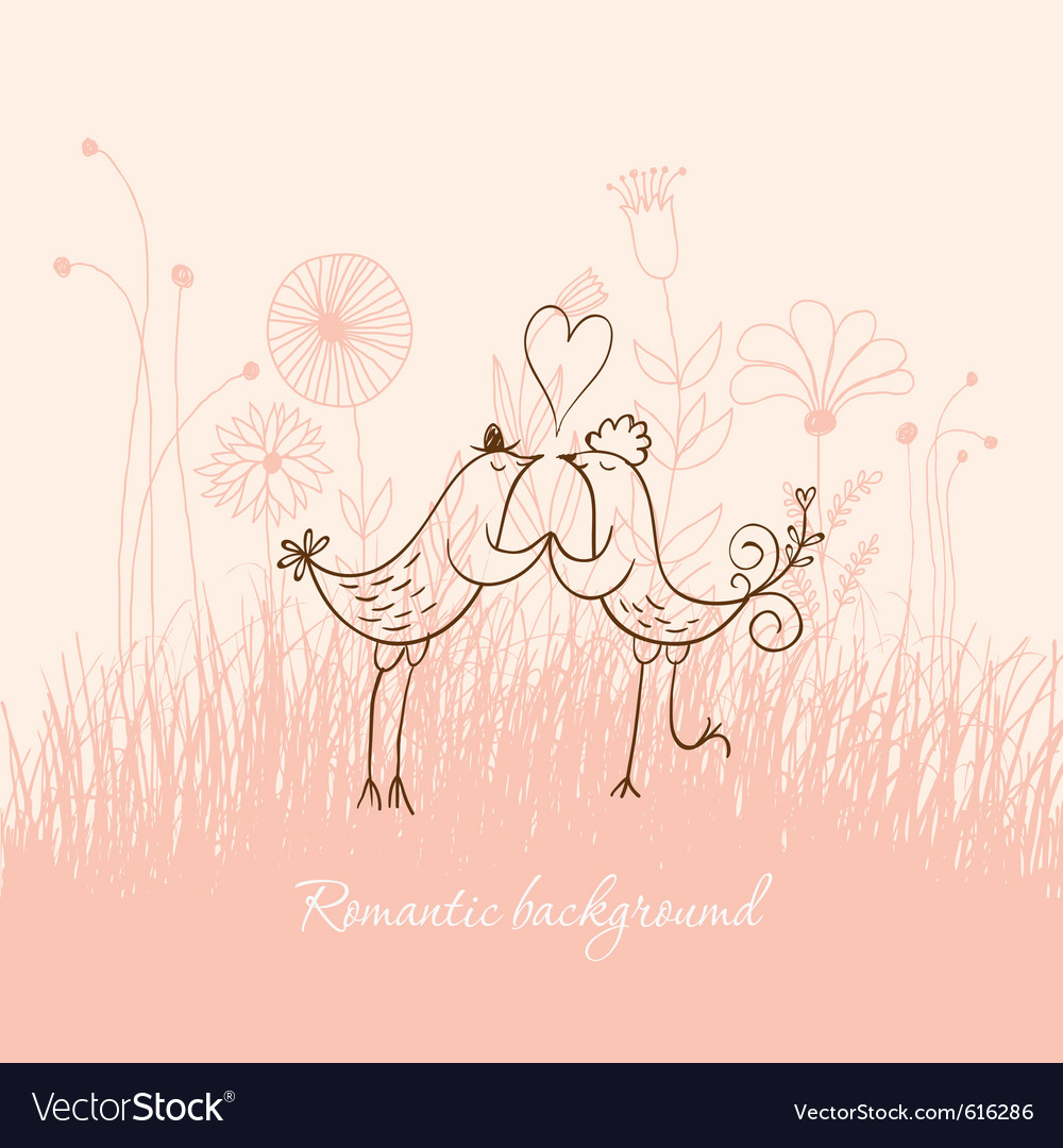 Romantic vector | Price: 1 Credit (USD $1)