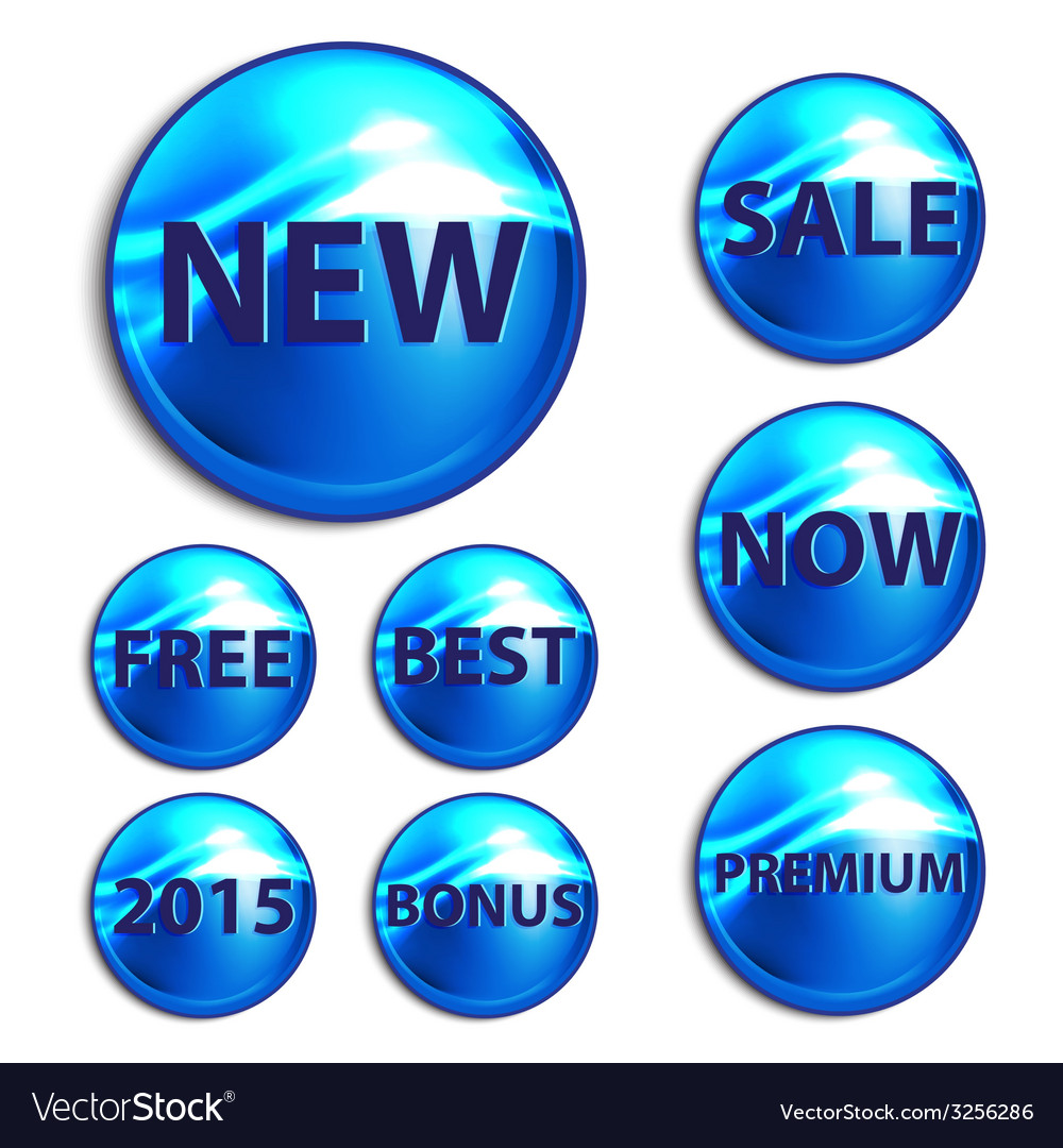 Stickers for the good season sales vector   Price: 1 Credit (USD $1)