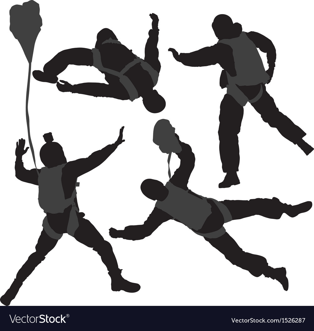 Base jumping vector | Price: 1 Credit (USD $1)