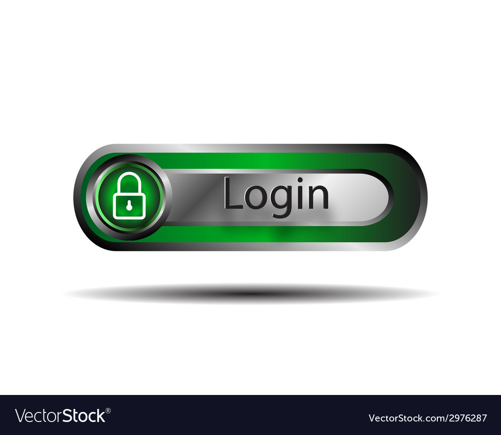 Login button vector | Price: 1 Credit (USD $1)