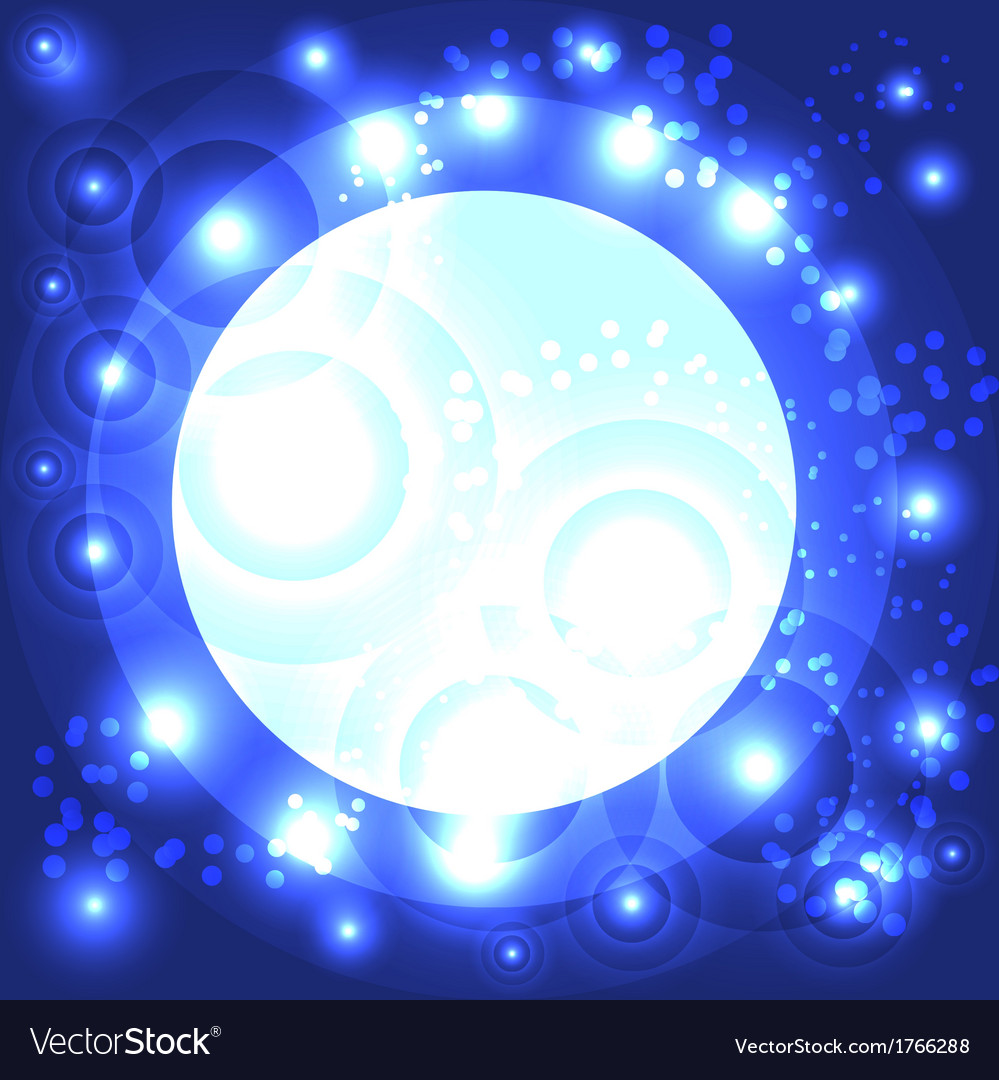 Abstract background with glowing flares vector | Price: 1 Credit (USD $1)