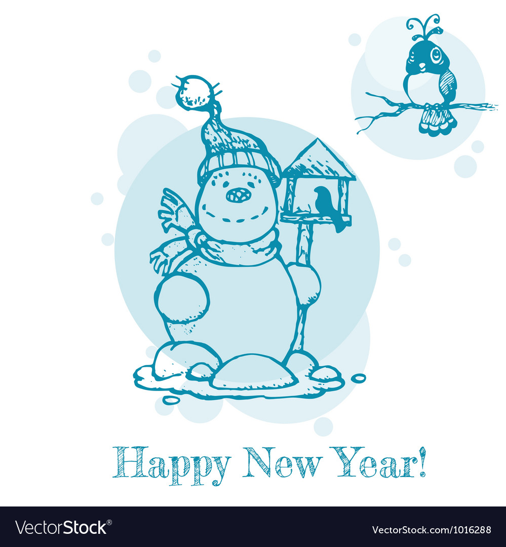 Christmas or new year card vector | Price: 1 Credit (USD $1)