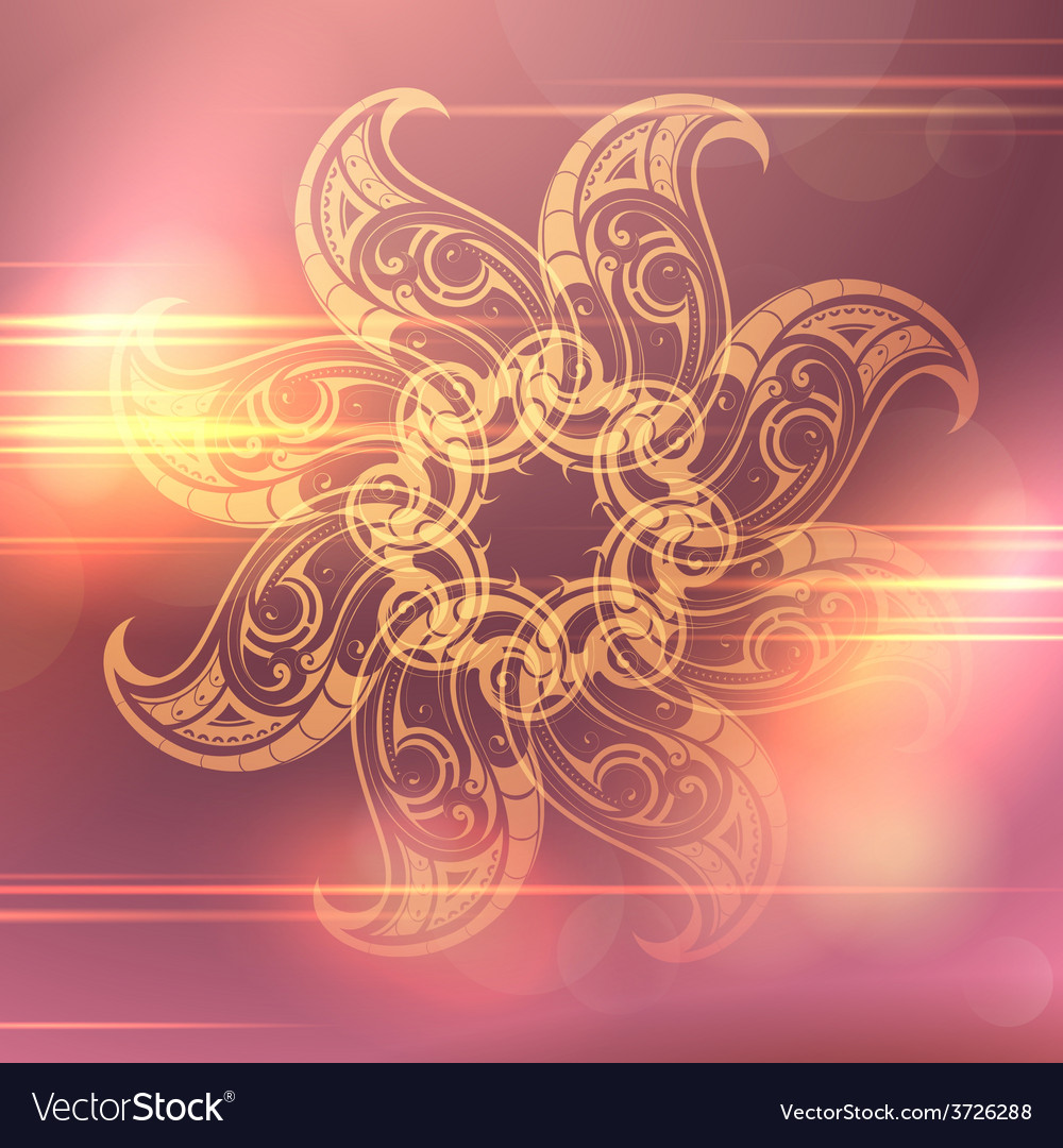 Ethnic ornament vector | Price: 1 Credit (USD $1)