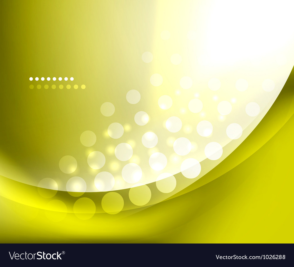 Shiny smooth blurred wave background vector | Price: 1 Credit (USD $1)