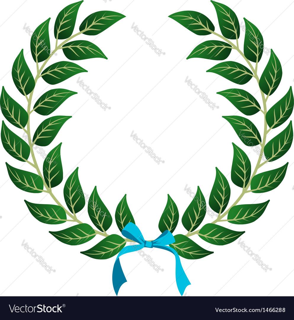 Winner laurel wreath vector | Price: 1 Credit (USD $1)