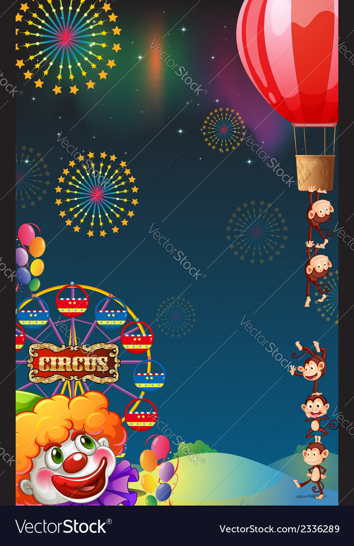 A circus show at the carnival vector | Price: 3 Credit (USD $3)