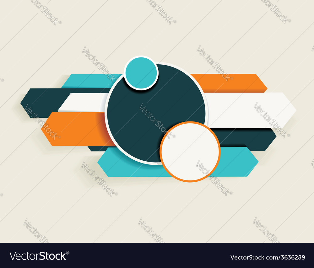 Abstract arrows and circles can be used for vector | Price: 1 Credit (USD $1)