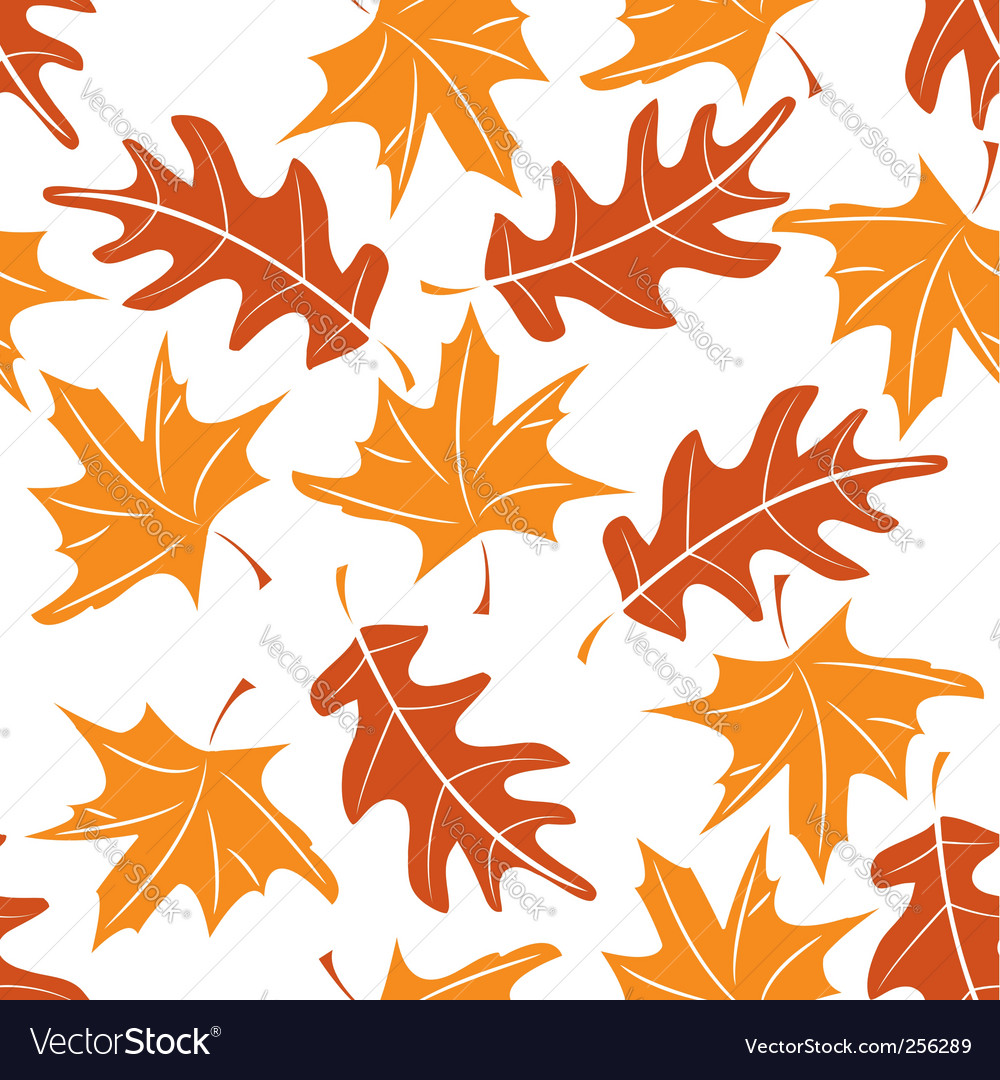 Autumn pattern vector | Price: 1 Credit (USD $1)