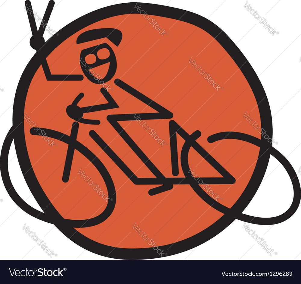 Biker vector | Price: 1 Credit (USD $1)