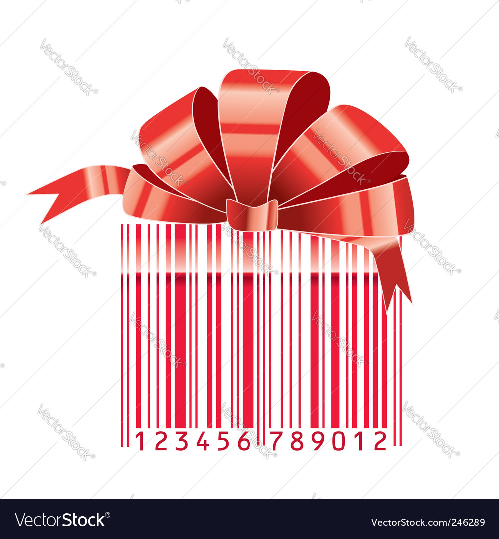 Gift barcode vector | Price: 1 Credit (USD $1)