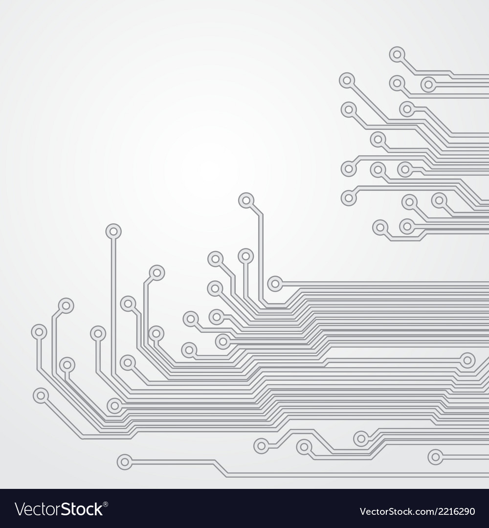 Abstract background with a circuit board texture vector | Price: 1 Credit (USD $1)
