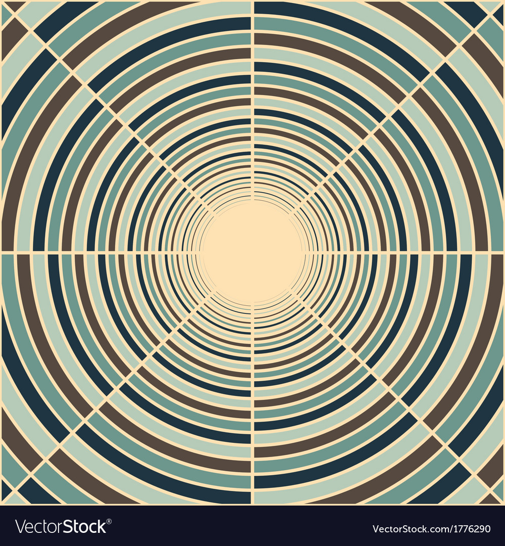 Abstract deep tube abstract background vector | Price: 1 Credit (USD $1)