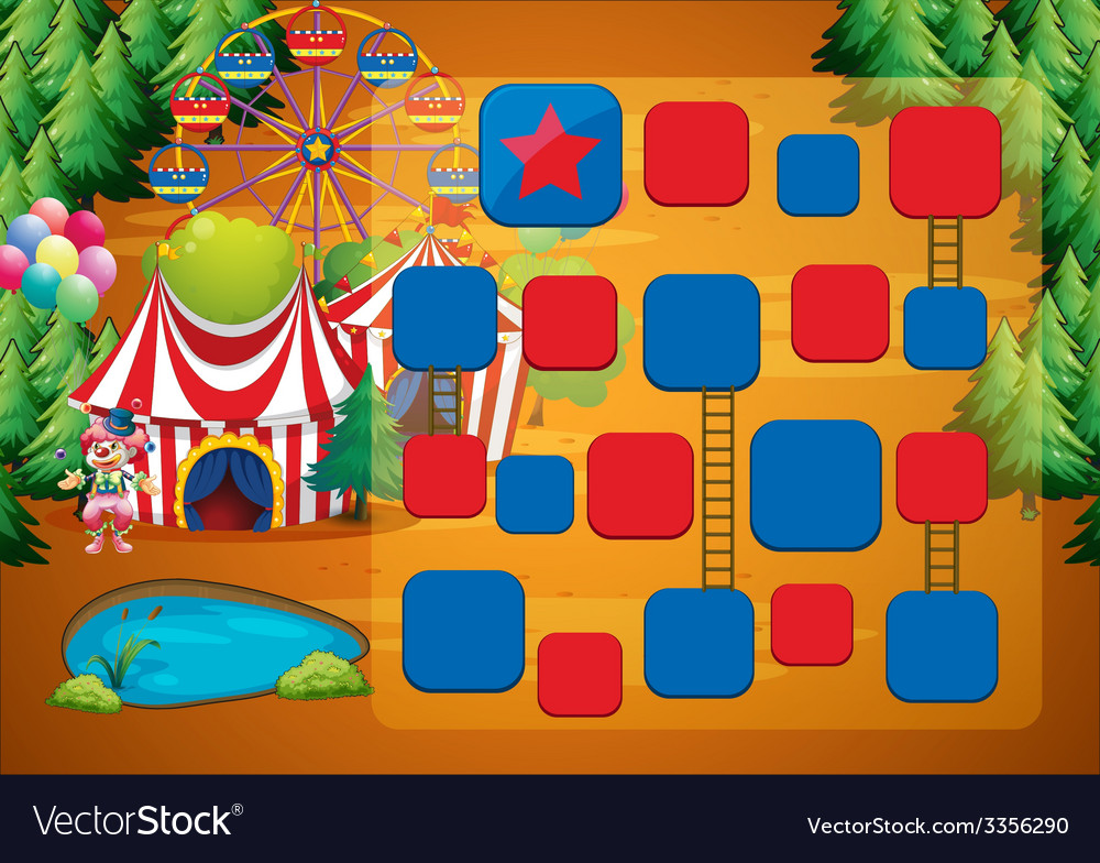 Circus game vector | Price: 1 Credit (USD $1)