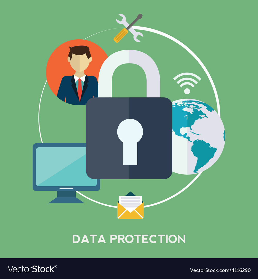 Data protection vector   Price: 1 Credit (USD $1)
