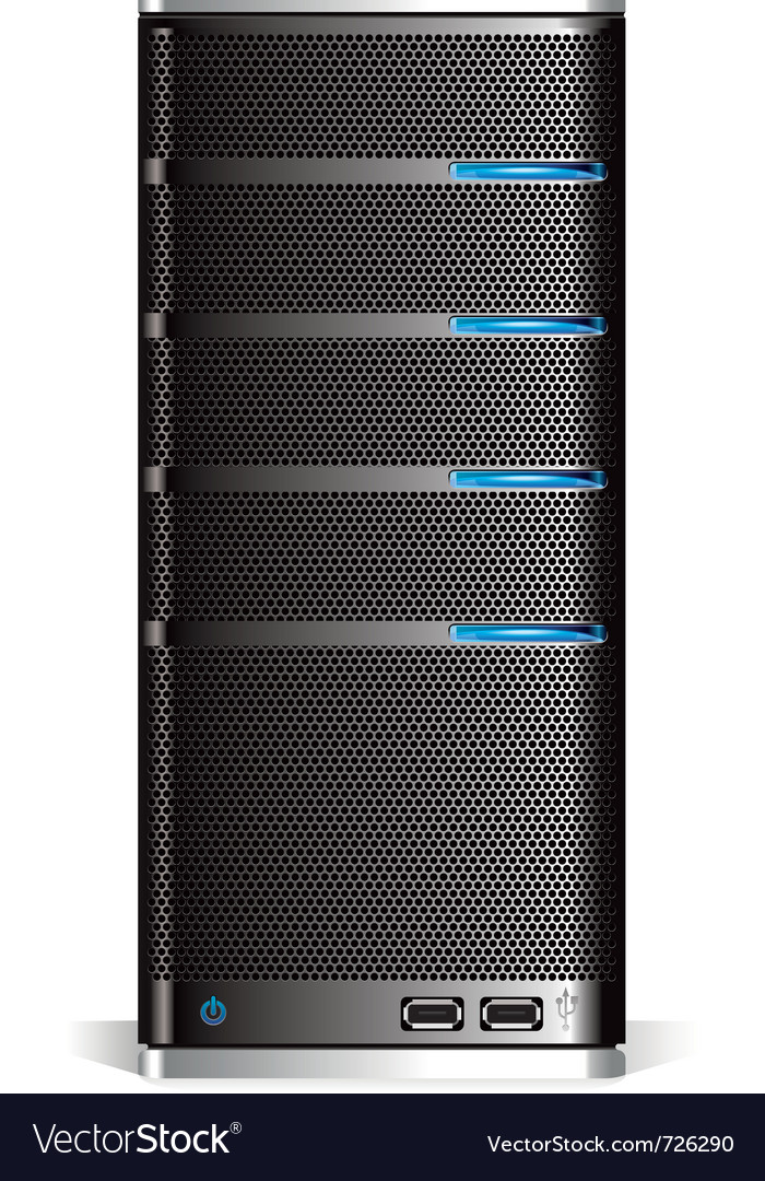 Server vector | Price: 1 Credit (USD $1)
