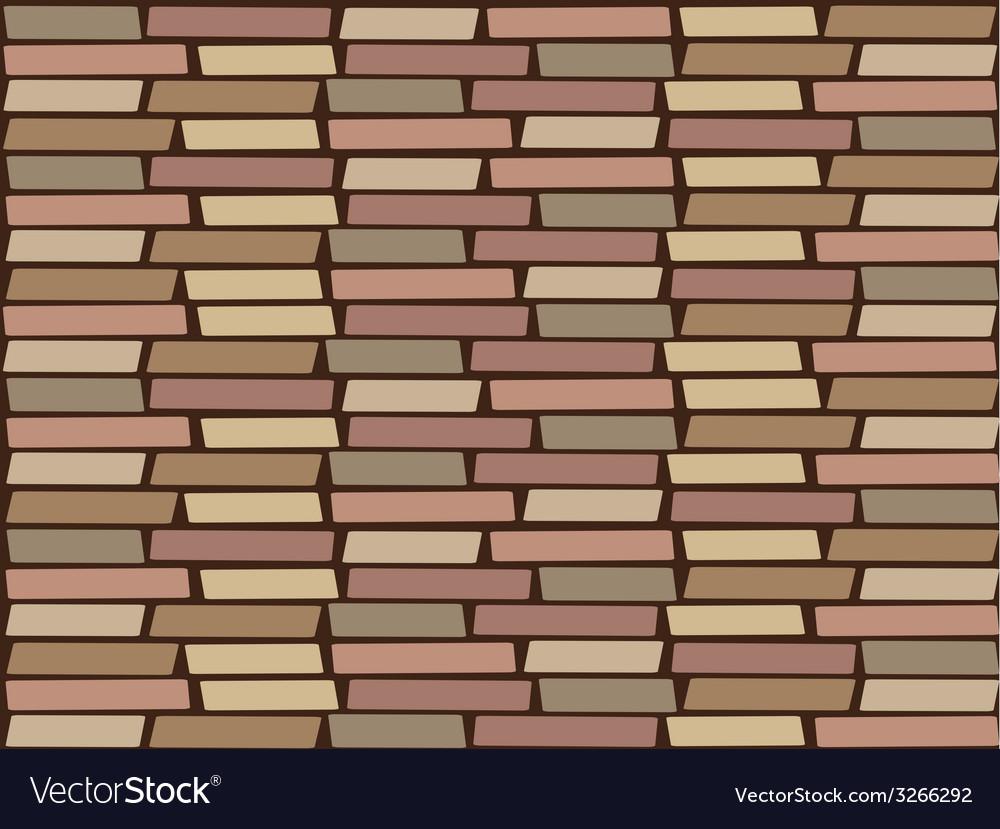 Brickwall wallpaper vector | Price: 1 Credit (USD $1)