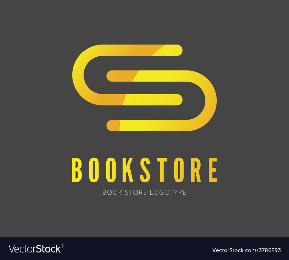 Abstract book logo template for branding vector | Price: 1 Credit (USD $1)