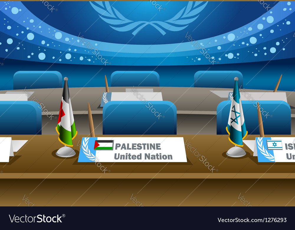 Palestine candidate for the seat on united nation vector | Price: 1 Credit (USD $1)