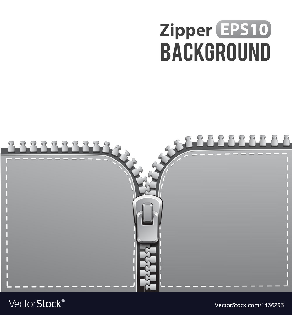 Silver zipper background vector | Price: 1 Credit (USD $1)
