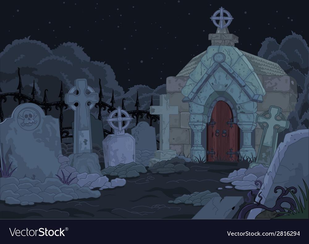 Cemetery vector | Price: 1 Credit (USD $1)