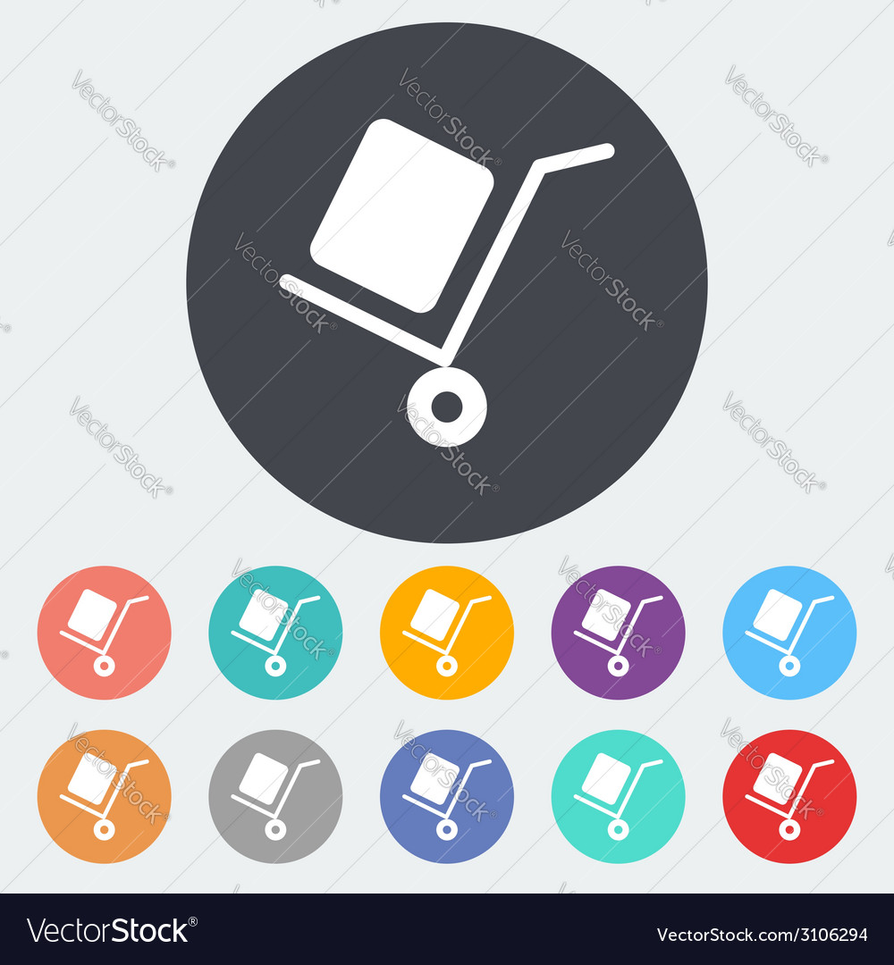 Delivery icon vector | Price: 1 Credit (USD $1)