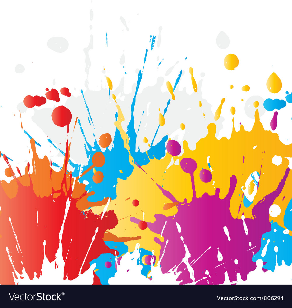 Grunge paint splat background vector | Price: 1 Credit (USD $1)