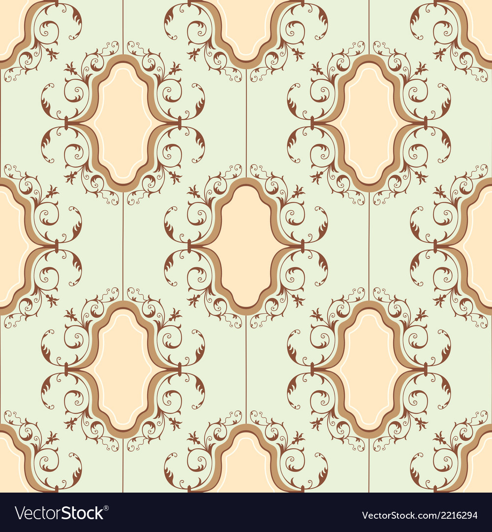 Medallion pattern vector | Price: 1 Credit (USD $1)