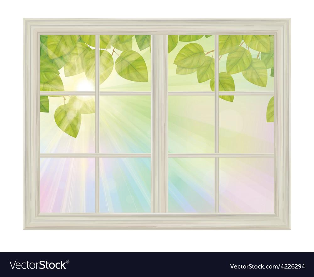 Window spring vector | Price: 1 Credit (USD $1)
