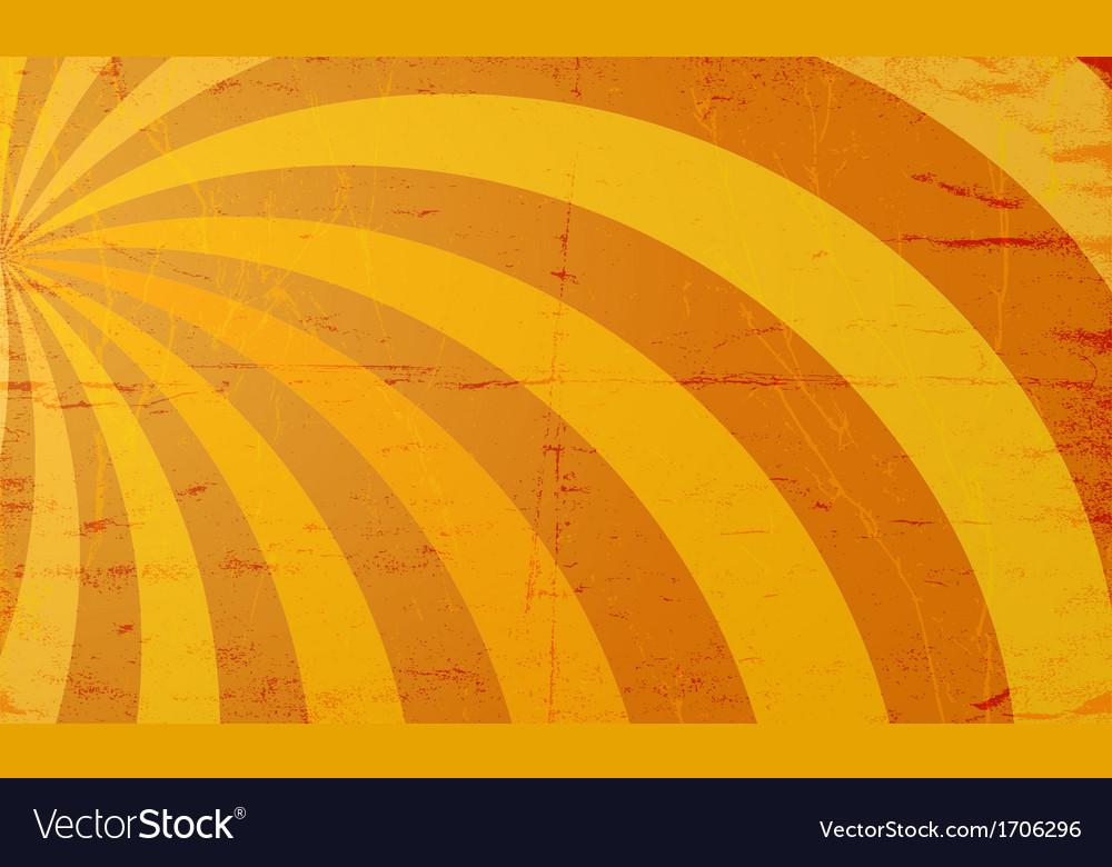 Grunge sun rays vector | Price: 1 Credit (USD $1)