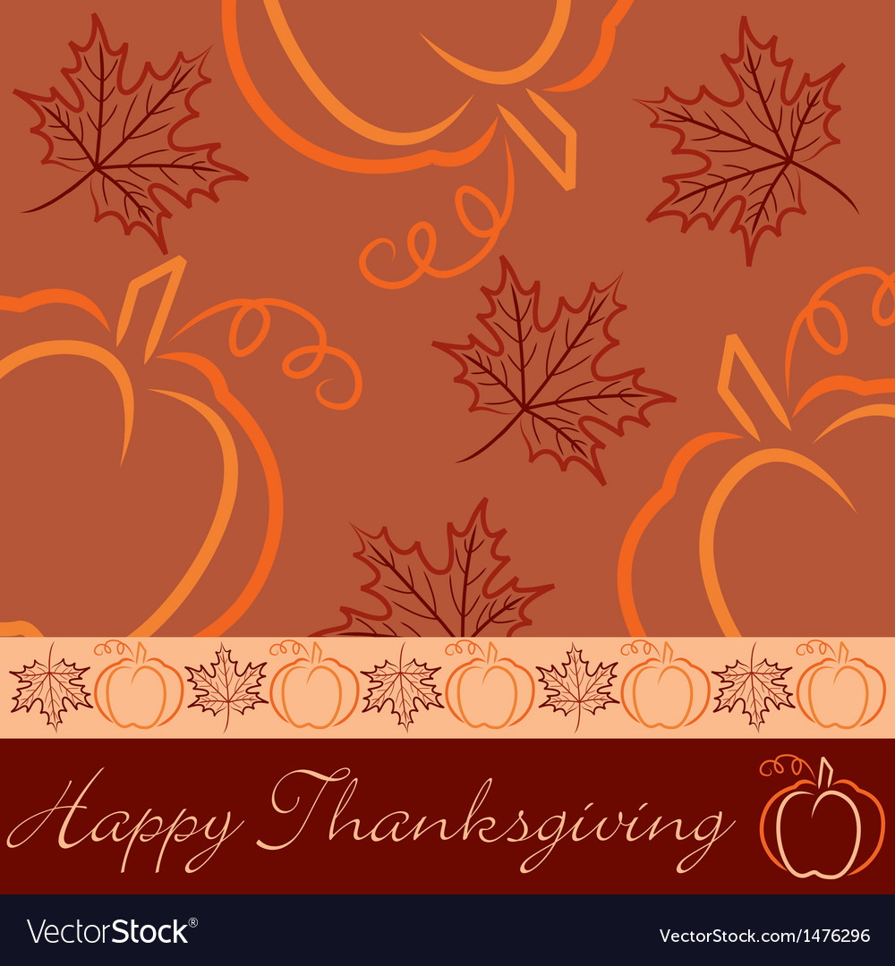 Happy thanksgiving vector | Price: 1 Credit (USD $1)