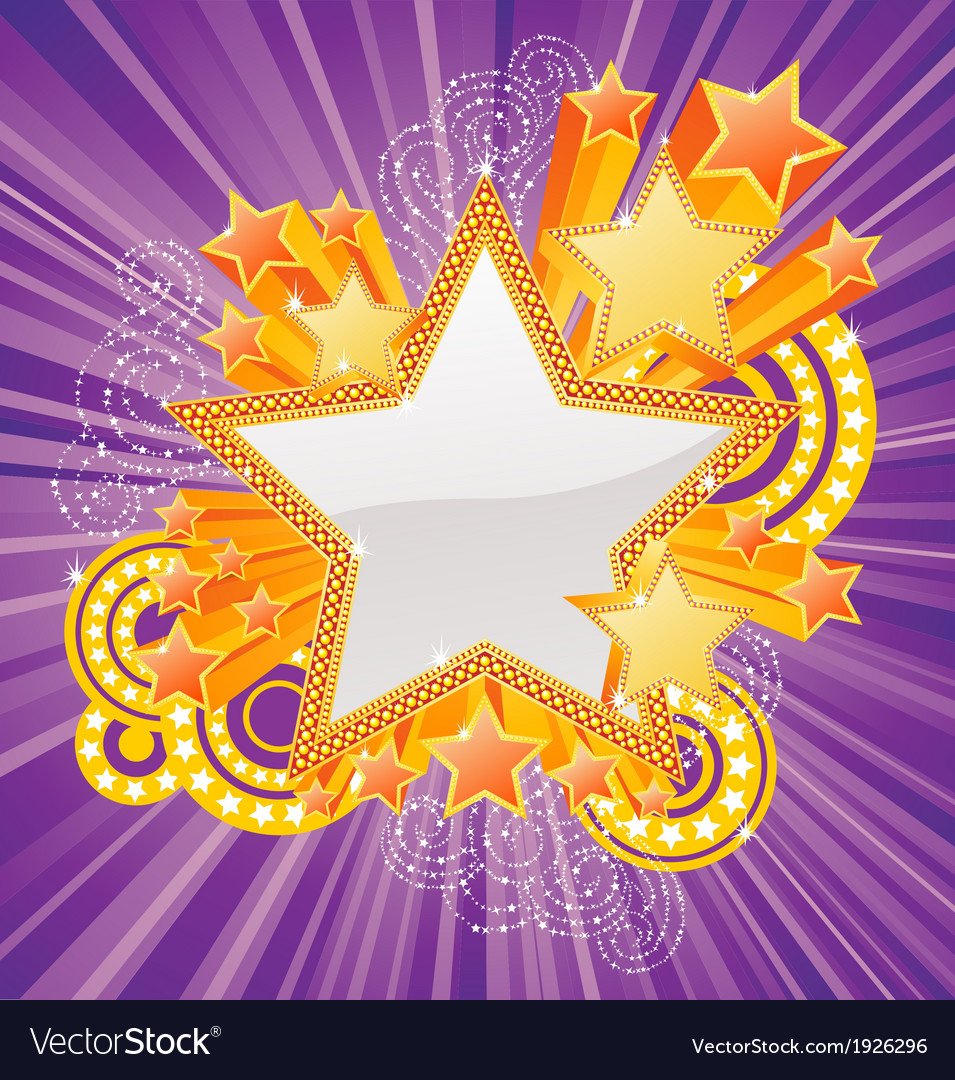 Marquee star vector | Price: 1 Credit (USD $1)