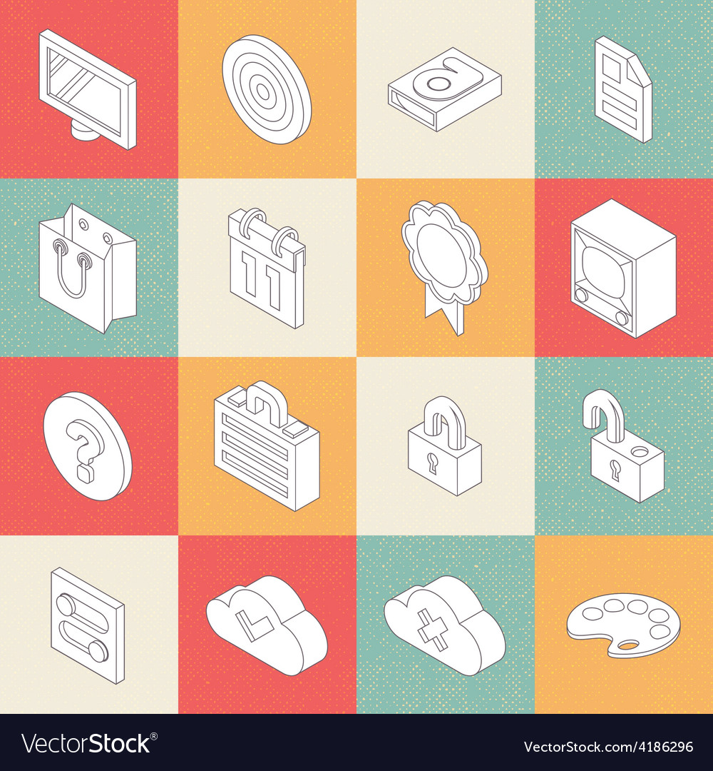 Modern flat icons 2 vector | Price: 1 Credit (USD $1)