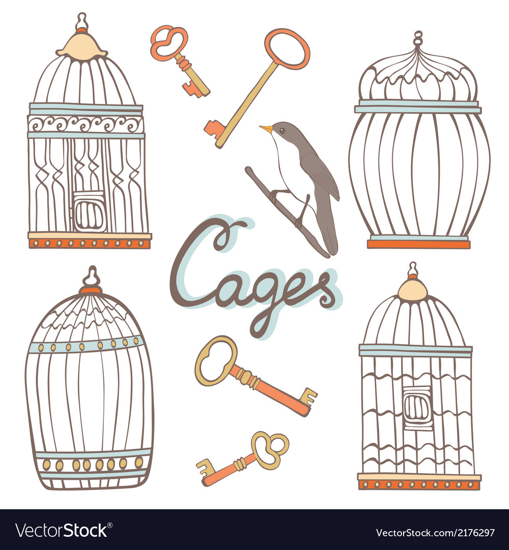 Cages collection vector | Price: 1 Credit (USD $1)