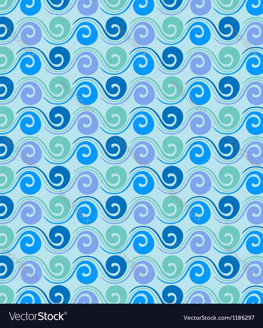 Sea waves vector | Price: 1 Credit (USD $1)