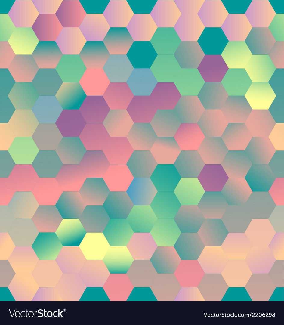 Colorful pentagons vector | Price: 1 Credit (USD $1)