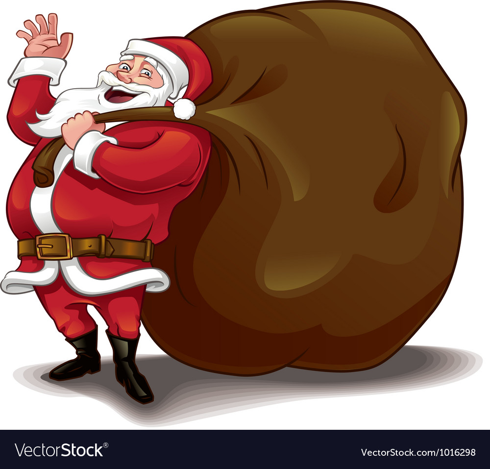 Santa sack vector | Price: 3 Credit (USD $3)