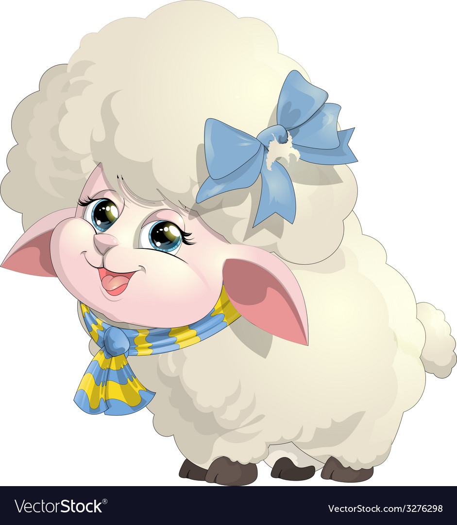 Sheep vector | Price: 3 Credit (USD $3)
