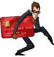 Cartoon thief vector