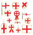 England flags vector