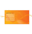 Wallpaper abstract orange background vector