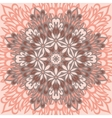 Flower mandala abstract background vector