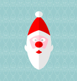 Santa seamless vector